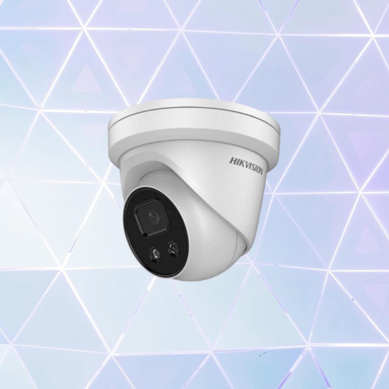Turret Camera White Duke Security