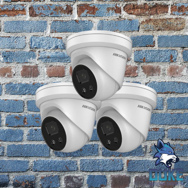 3 Camera System Duke Security