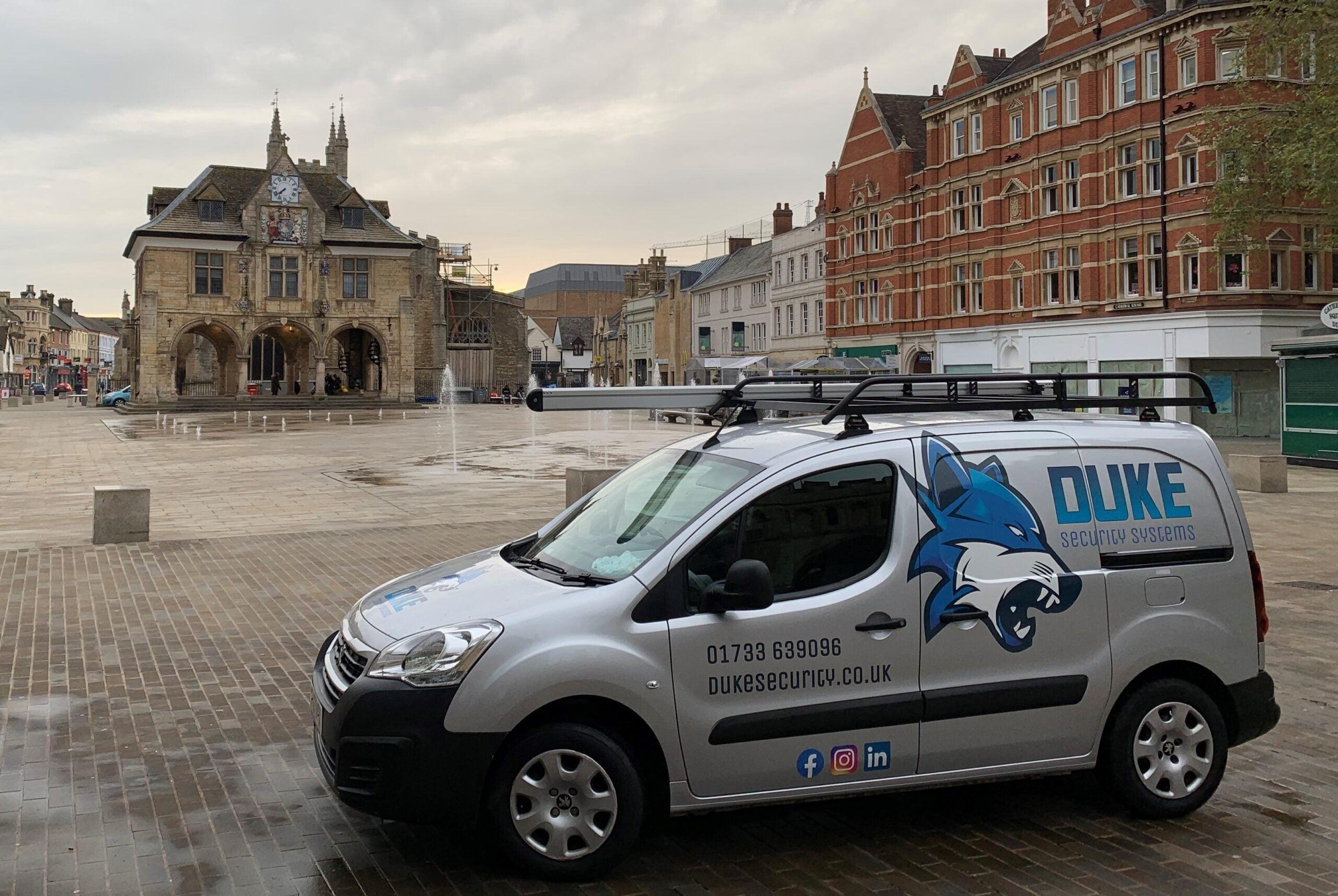 Duke Security Systems, Peterborough, CCTV Installation