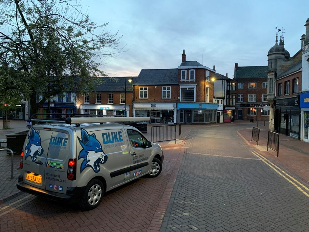 Duke Security Systems, Spalding Lincolnshire, CCTV Installation, Intruder Alarm Installation