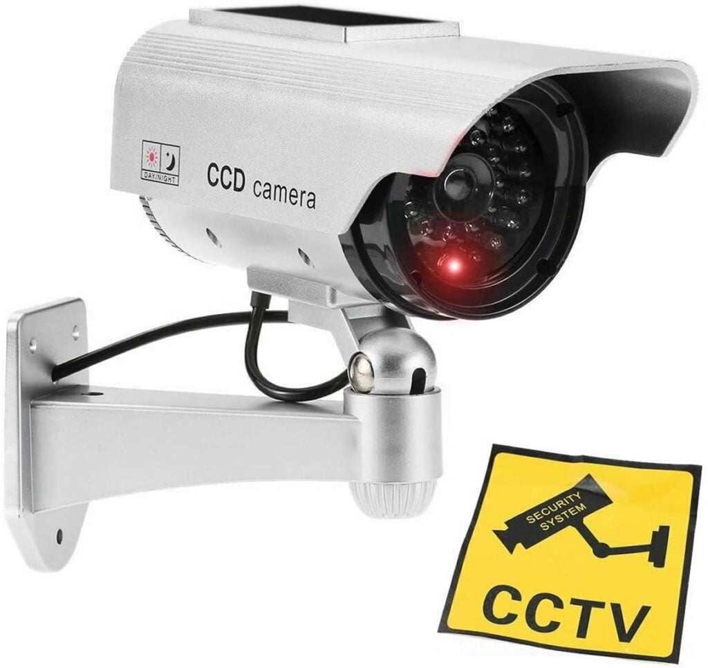 Dummy cctv camera, duke security systems, cctv installation in peterborough