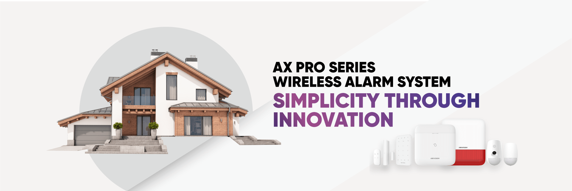 Hikvision AX PRO Banner